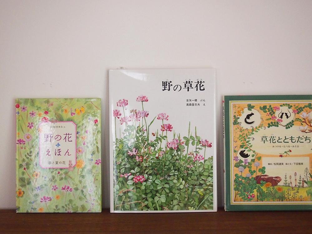 草花の絵本
