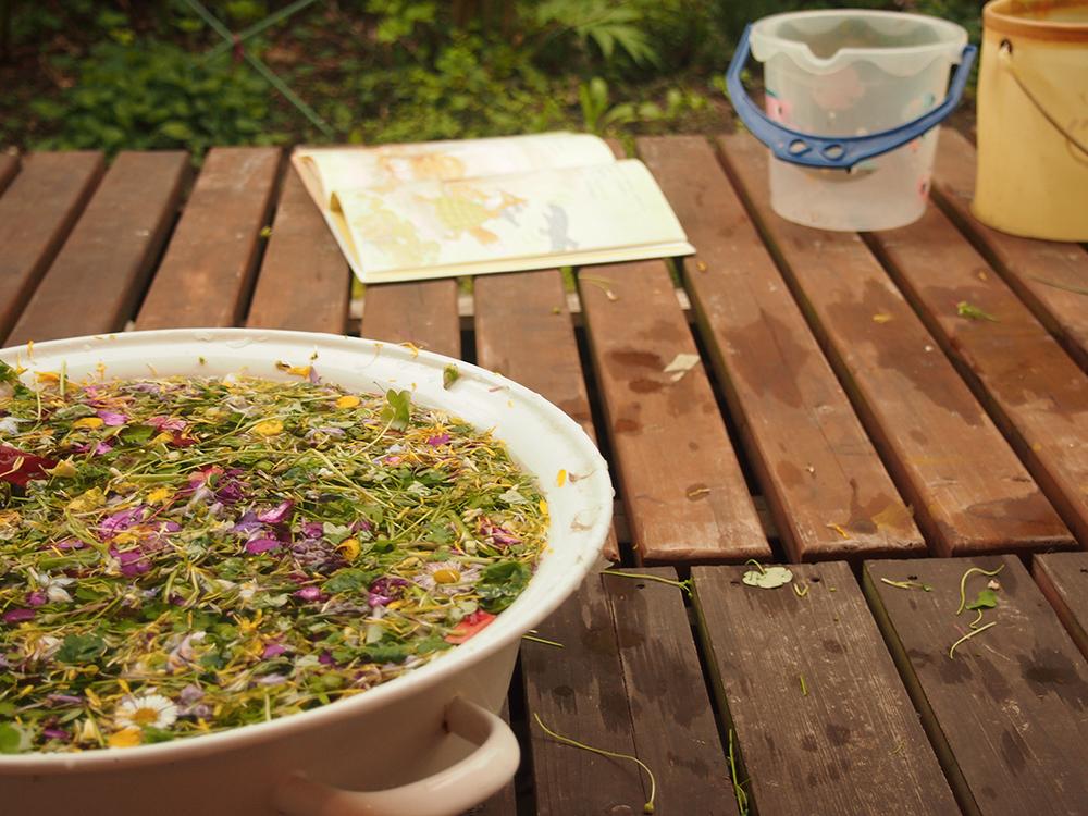 お花のスープ